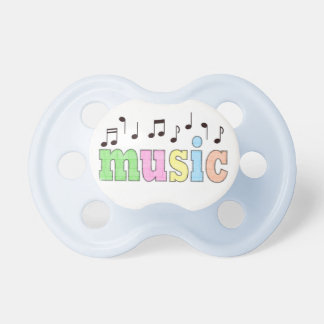 Music with Notes Pacifier