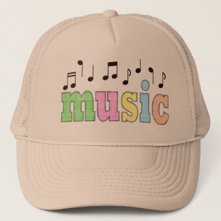 Music with Notes Trucker Hat