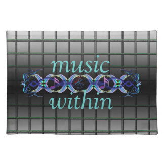 Music Within Cloth Placemat