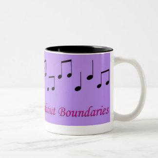 Music Without Boundaries Coffee Mug