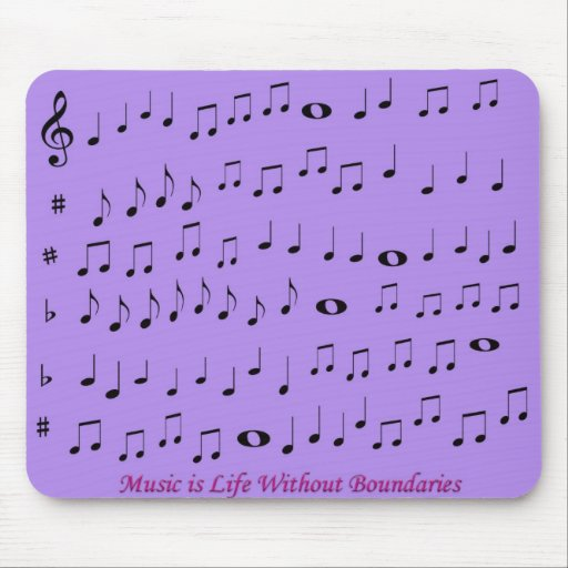 music without boundaries mousepad