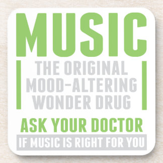 Music Wonder Drug Coaster