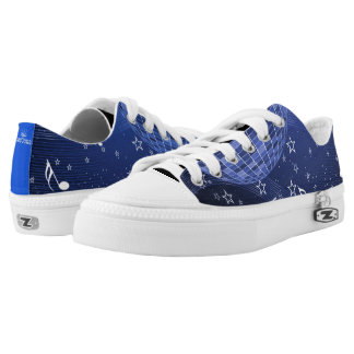 Music World Galaxy Low-Top Sneakers