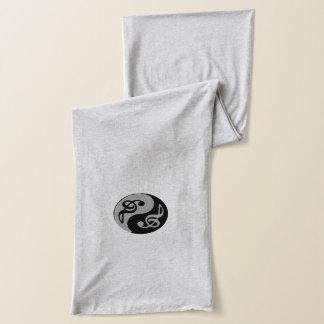 music zen symbol scarf