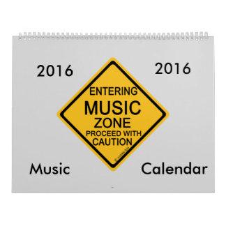 Music Zone Calendar 2016