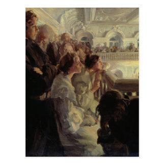 Música, 1902-03 postales