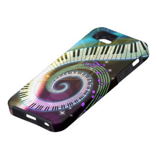 Música 1 caja de la mota funda para iPhone SE/5/5s