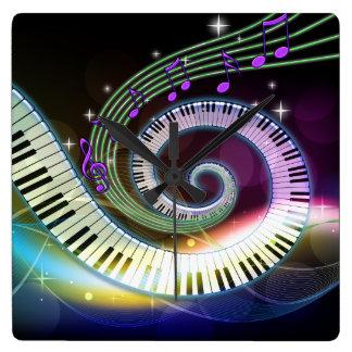 Música 1 reloj