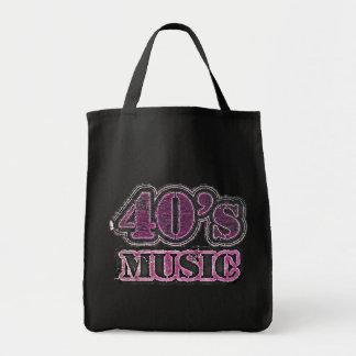 Música #2 - bolsos de los años 40 del vintage