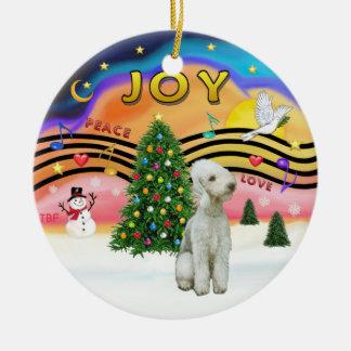 Música 2 de Navidad - Bedlington Terrier Adornos