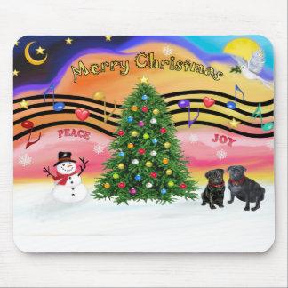 Música 2 del navidad - barros amasados () alfombrillas de raton
