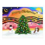 Música 2 del navidad - caballeros (Blenheim F) Postal