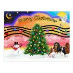 Música 2 del navidad - Cavaliers (cuatro) Postales