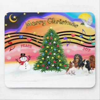 Música 2 del navidad - Cavaliers (cuatro) Alfombrillas De Raton