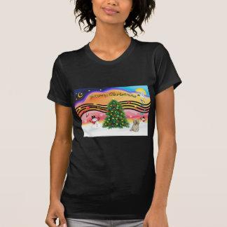 Música 2 del navidad - cocker (piel de ante) camisetas