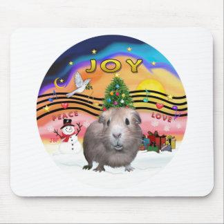Música 2 del navidad - conejillo de Indias 2 Tapetes De Ratón