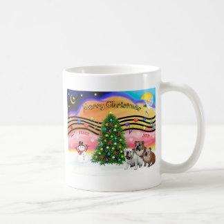 Música 2 del navidad - dogos ingleses tres tazas