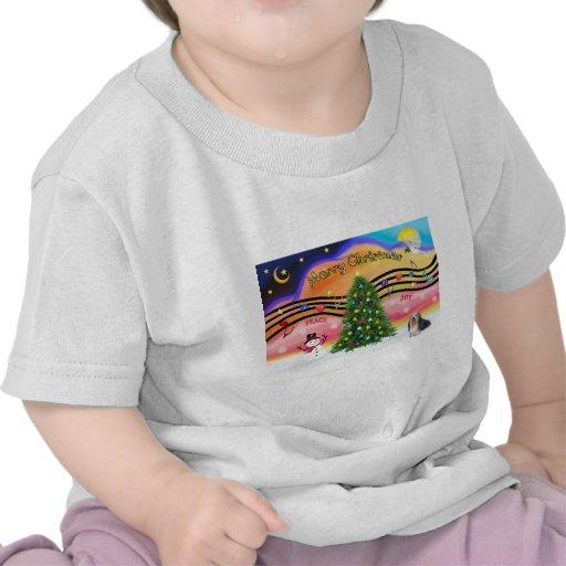 Música 2 del navidad - Havanese 3 Camisetas