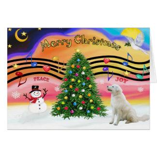 Música 2 del navidad - Kuvacz Tarjeta De Felicitación