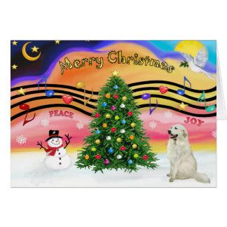 Música 2 del navidad - los grandes Pirineos 4 Felicitacion