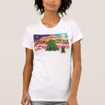 Música 2 del navidad - mojón (21 brindle) camiseta