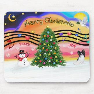 Música 2 del navidad - Papillon Alfombrilla De Raton