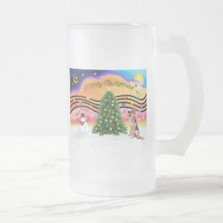 Música 2 del navidad - pastor alemán 1 tazas de café