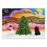 Música 2 del navidad - Pulli Felicitación