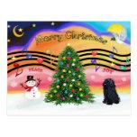 Música 2 del navidad - Pulli Postal