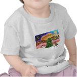 Música 2 del navidad - sabueso camisetas