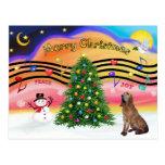 Música 2 del navidad - sabueso postales