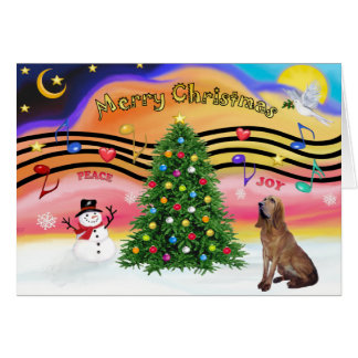Música 2 del navidad - sabueso felicitación