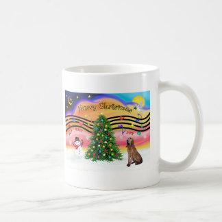 Música 2 del navidad - sabueso taza