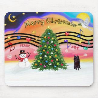 Música 2 del navidad - Schipperke Tapetes De Ratón