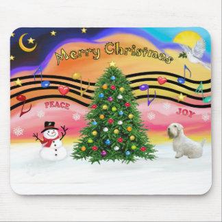 Música 2 del navidad - Sealyham Terrier Alfombrilla De Ratones