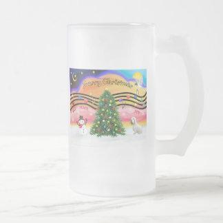 Música 2 del navidad - Sealyham Terrier Tazas De Café