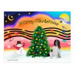 Música 2 del navidad - Terranova (l) Postal