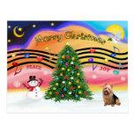 Música 2 del navidad - Terrier australiano Postal