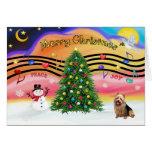 Música 2 del navidad - Terrier australiano Felicitacion