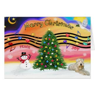 Música 2 del navidad - Terrier de trigo ld Felicitacion