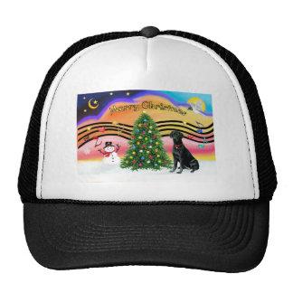Música 2-Labrador #1 del navidad Gorras De Camionero