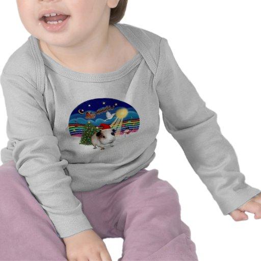 Música 3 del navidad - conejillo de Indias 1 Camisetas