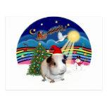 Música 3 del navidad - conejillo de Indias 1 Postal
