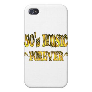 música 50s para siempre iPhone 4 carcasa