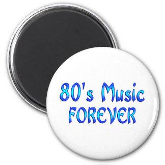 música 80s para siempre imán