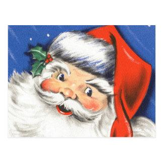 Música alegre de Papá Noel w del navidad del Postal