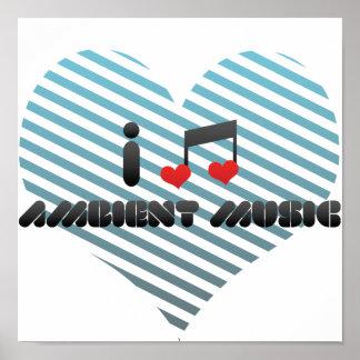 Música ambiente impresiones