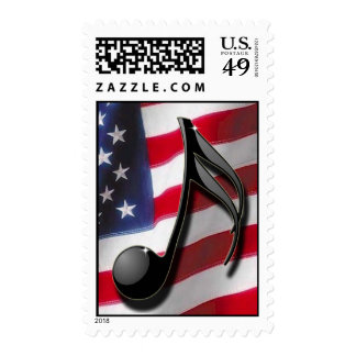 Música americana franqueo