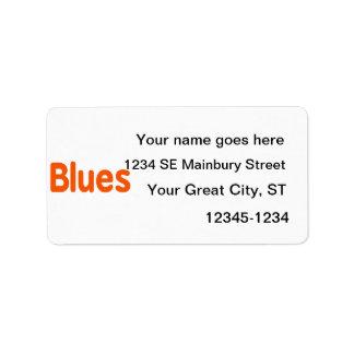 Música anaranjada design.png de la palabra d de lo etiquetas de dirección