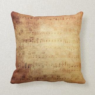 Música antigua cojines